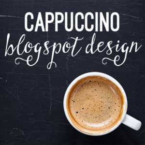 The Cappuccino Custom Blog Design