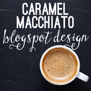 The Caramel Macchiato Custom Blog Design