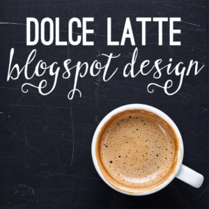 The Dolce Latte Custom Blog Design