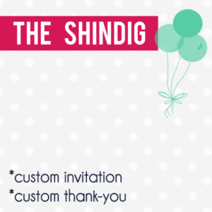 The Shindig Digital Party Package