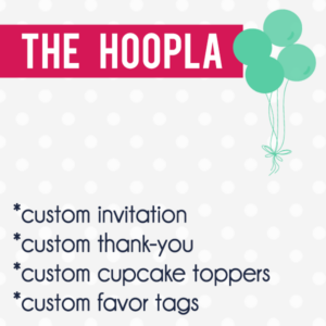 The Hoopla Digital Party Package