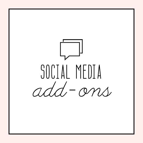 Social Media Add Ons