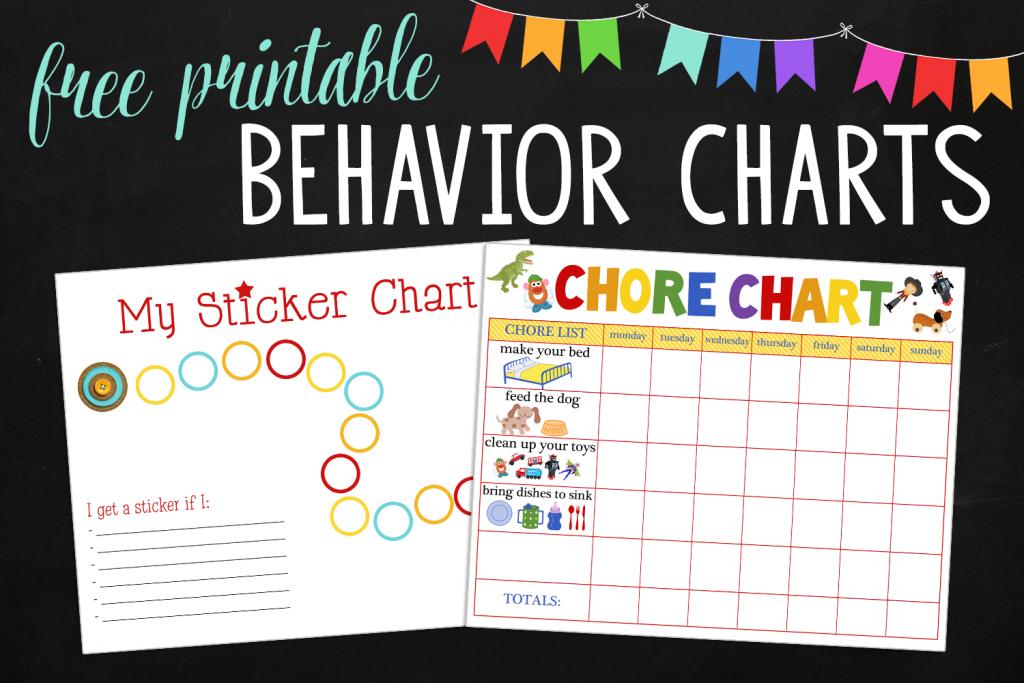 Behavioral Printables