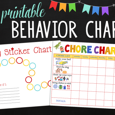 Free Behavioral Aid Printables