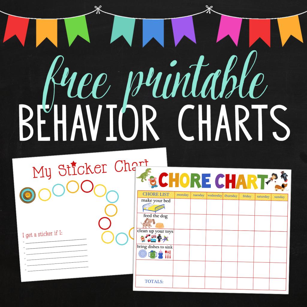 Behavioral Printables Square