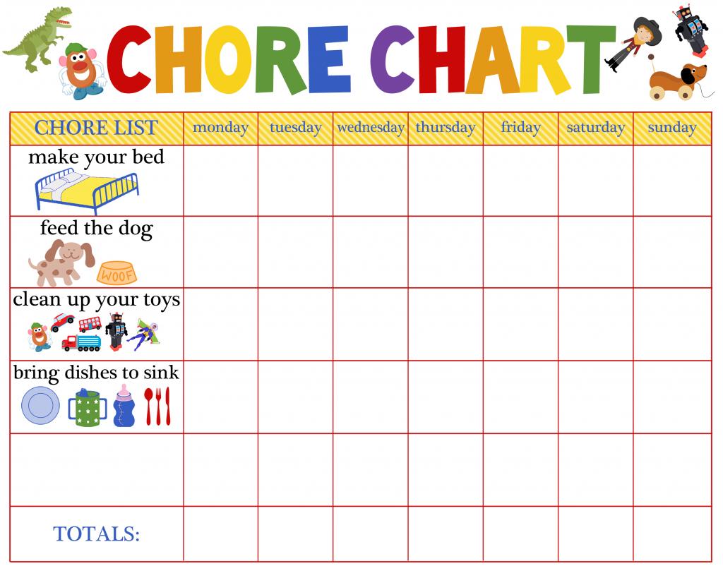 Chore Chart 2