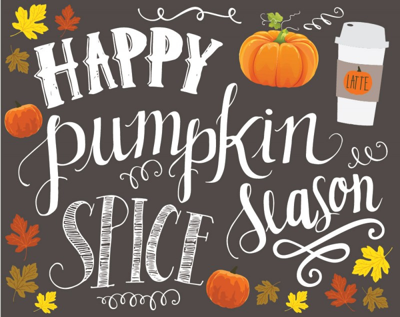 Freebie: Fall & Pumpkin Spice Love