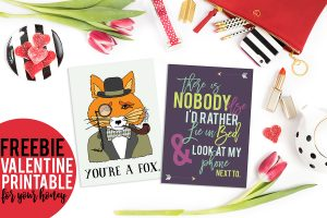 Freebie Valentine Printable for your Honey