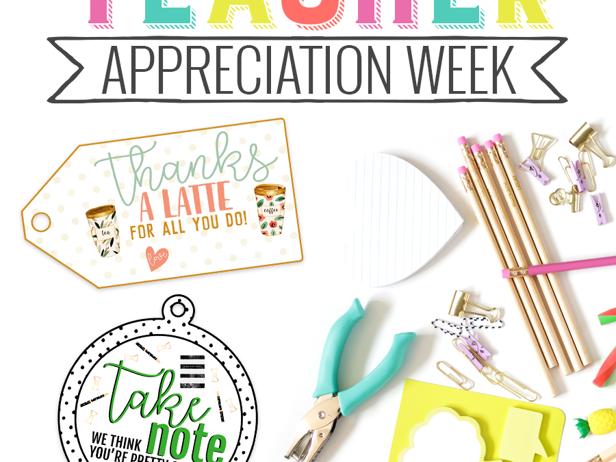 Teacher Appreciation Printable Tags Freebie