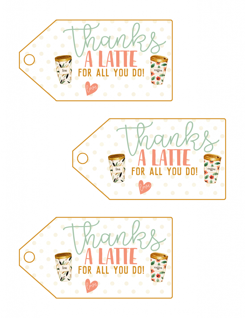 photograph regarding Teacher Appreciation Printable Tags called Trainer Appreciation Printable Tags Freebie - Leaping Jax