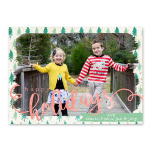 Holiday Happy Card Front