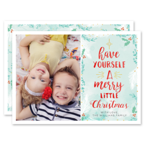 Merry Little Greetings Card