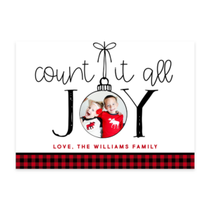 Count It Joy Front